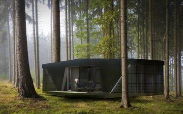 Автономный мини-дом с роскошным интерьером от дизайн-студии из Стокгольма