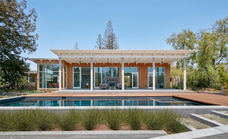 Потрясающе красивое ранчо в Сан-Франциско оснащено энергосберегающими технологиями