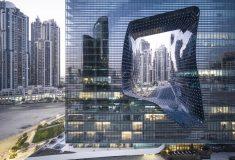 Отель Захи Хадид с захватывающим «дырчатым» дизайном стал новой достопримечательностью в Дубае