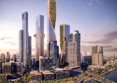 Самый высокий небоскреб с зеленым фасадом будет построен в Австралии