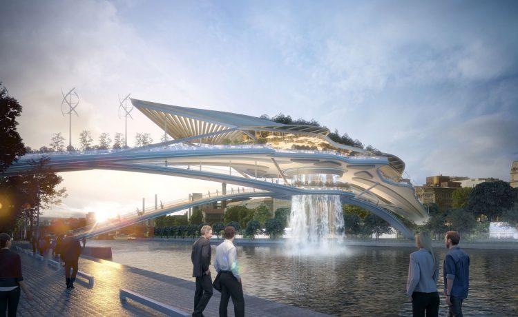 Вавилонский мост с висячими садами будет построен над Сеной