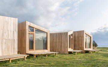 Отель AKA Patagonia в чилийской пустыне гармонирует с окружающим пейзажем