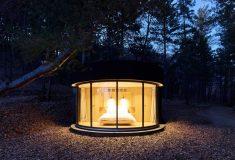 Микро-дом LumiPod с максимальным обзором