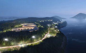 UN Studio представила проект островного курорта для Южной Кореи