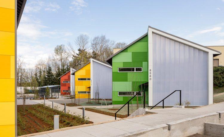 В Портленде открыли модульное доступное жильё для всех нуждающихся