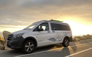 Автофургон Mercedes Anacapa: уютное мобильное убежище среди дикой природы