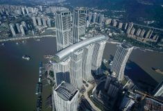 Удивительный «горизонтальный небоскреб» Китая открылся для посетителей