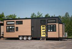 Великолепный крошечный дом Magnolia V5 похож на квартиру на колесах