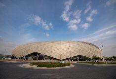 В Катаре завершен новый футбольный стадион «мерцающий бриллиант»