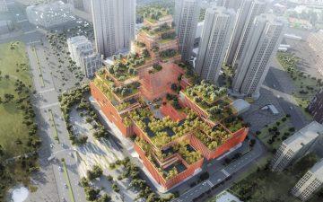 В Шэньчжэне будет построен реабилитационный центр с крышей, засаженной лечебными растениями