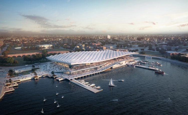 Новый рыбный рынок в Сиднее: свежие морепродукты и экологичный дизайн