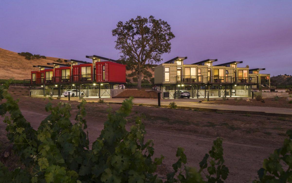 Карготектура добралась до винодельческой страны в Пасо-Роблес