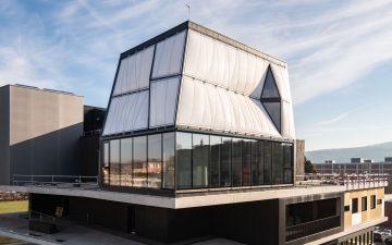 Футуристический DFAB HOUSE построен с использованием робота и 3D-принтера