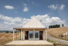 Сборный дом в Новой Зеландии был построен на месте всего за 4 дня