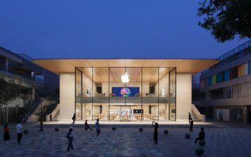 Новый магазин Apple в центре Пекина будет работать частично на солнечной энергии