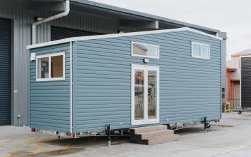Крошечный домик Total Grace готов к работе и отдыху