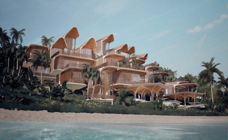 Островные дома Zaha Hadid Architects настраиваются под каждого домовладельца
