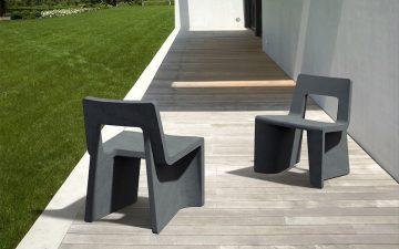 Кресло Fly-Ash изготовлено из отходов переработки угля