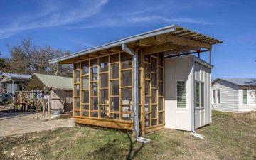Комплекс Community First пополнился доступными микро-домами для бездомных