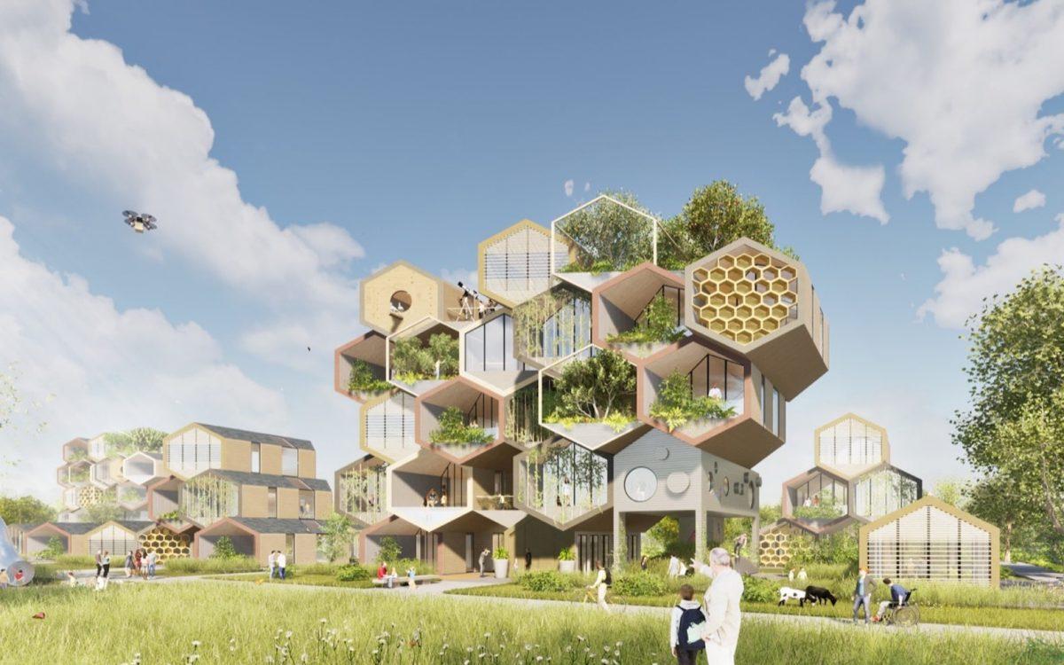 Проект HIVE: биофильные, самодостаточные дома будущего