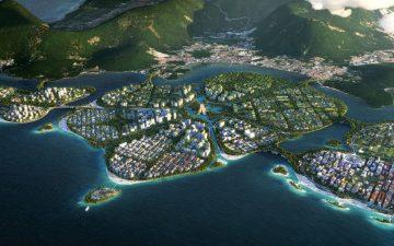 Архитектурная фирма BIG построит три экологически чистых острова в Малайзии