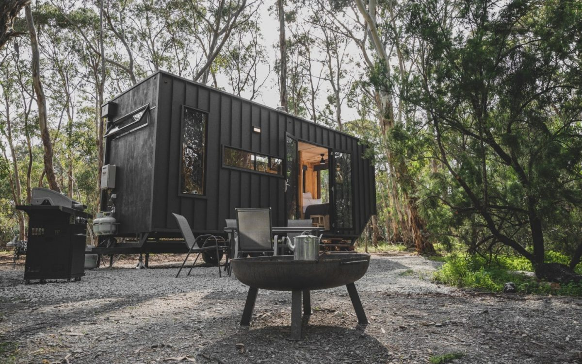 Очаровательный автономный мини-дом для экологичного образа жизни