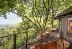 Эко-курорт Kasiiya Papagayo: палаточные номера с видом на тропический лес в Коста-Рике