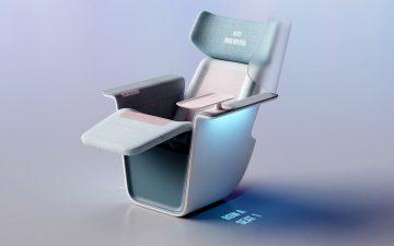 Кресло, которое обеспечивает социальное дистанцирование для зрителей в кинотеатрах