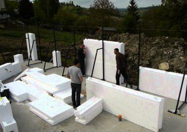 Posyte: новый материал на основе полистирола для строительства экологичных блочных домов