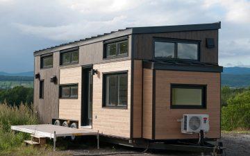 Ébène V3: новый прочный и компактный дом на колесах от Minimaliste