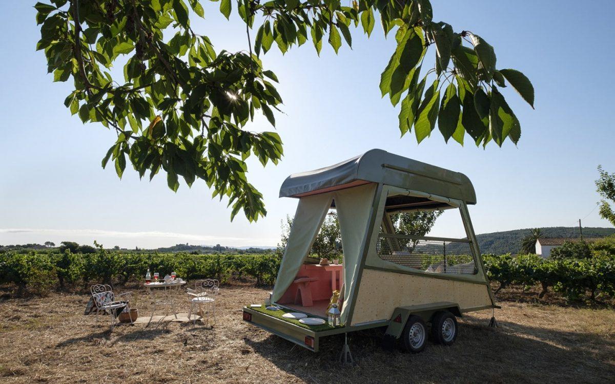 Pinea Mobile: самый маленький домик без удобств для глэмпинга