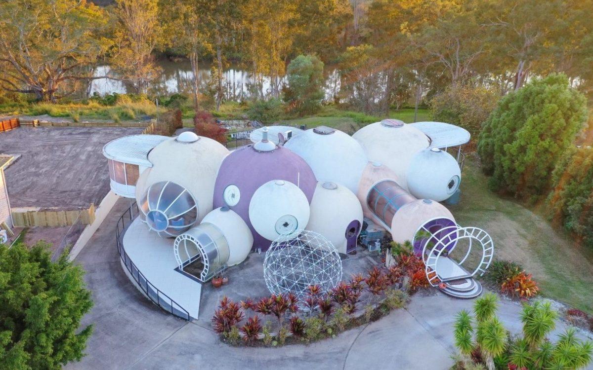 Необычный австралийский дом-пузырь выставлен на продажу