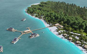 Плавучая яхта-вилла на солнечной энергии от Silent Yachts