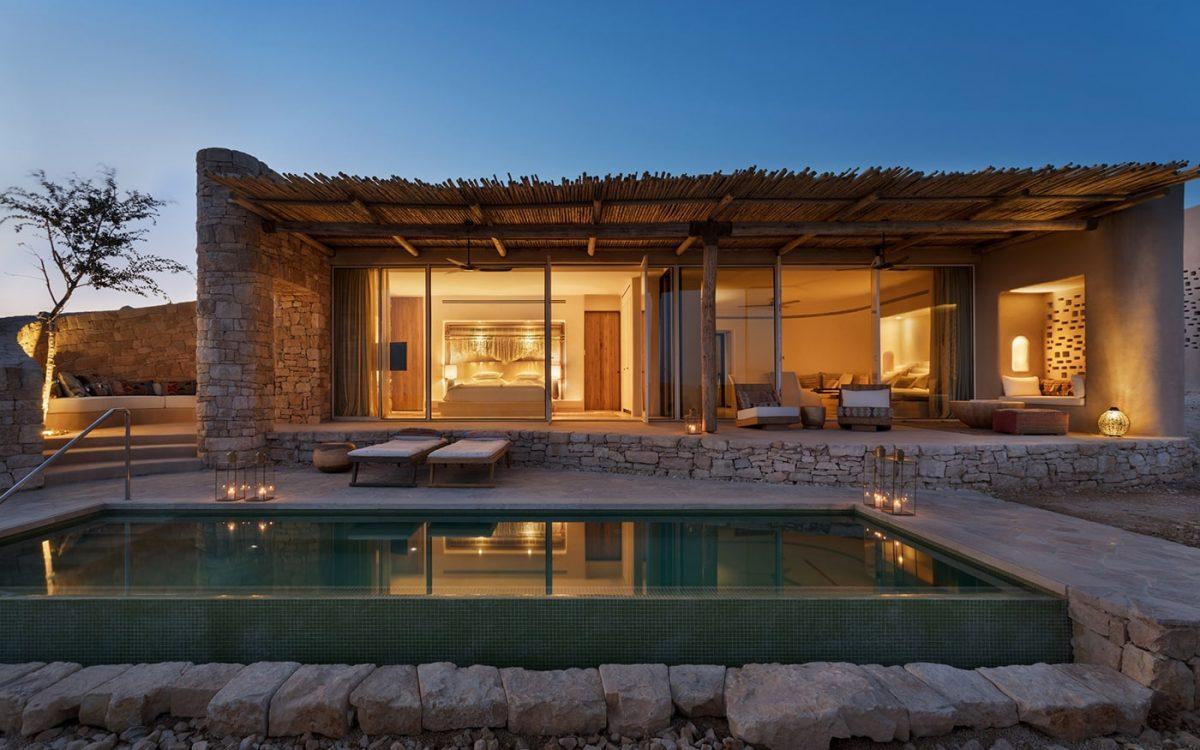В израильской пустыне построен роскошный гостиничный комплекс