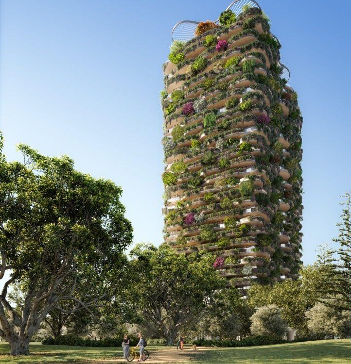 Самый зеленый небоскреб будет построен в Австралии