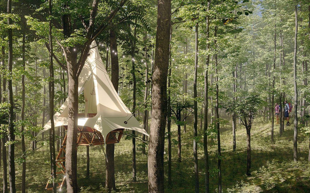 Привлекательные домики на дереве O2T теперь доступны для франшизы