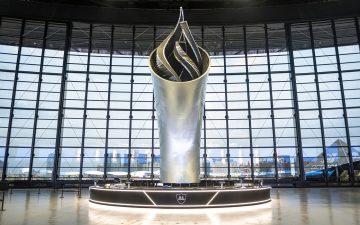 Факел-мемориал футбольной команды Лас-Вегаса стал самым высоким в мире 3D-печатным сооружением
