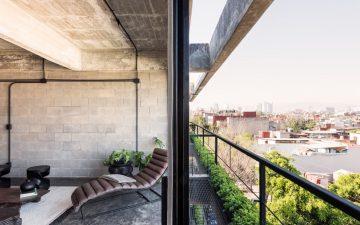 Склады середины прошлого века превратились в общественный центр в Мехико