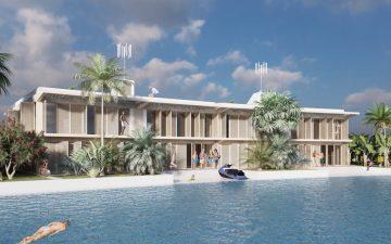 Архитектор предложил плавучие дома для островного Кирибати