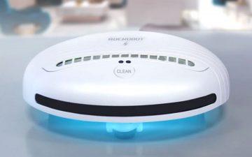 Портативный робот-стерилизатор: чистый дом без микробов