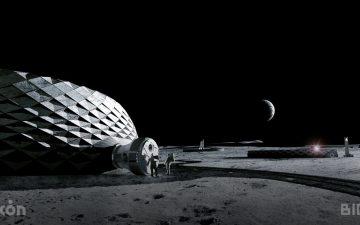 BIG представляет проект 3D-печатной среды обитания на Луне