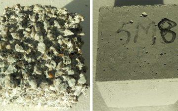 Новый безцементный бетон борется с жирбергами и коррозией