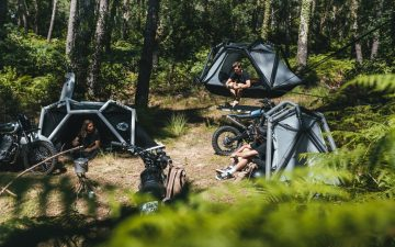 Exod Ark: надувная палатка для глэмпинга