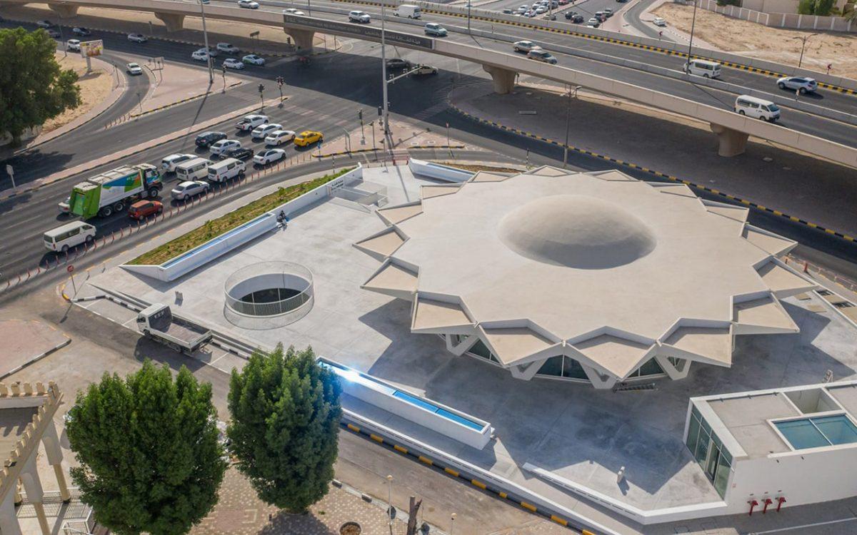 Брутальная «Летающая тарелка» в Шарджи превратилась в центр искусств