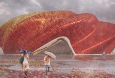 Steven Chilton Architects представляет новый «шелковый» театр в Гуанчжоу