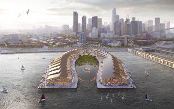 На набережной Сан-Франциско будет построен парк в форме подковы