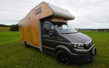 Новый деревянный автодом от Holzmobil прекрасен как внутри, так и снаружи