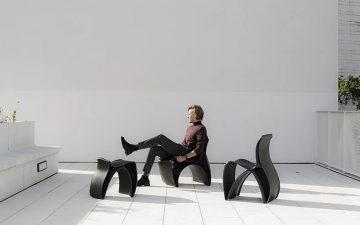 Йоахим Фромент создает 3D-печатную мебель из переработанных пластиковых отходов