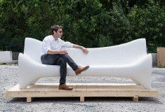 Филипп Адуатц разработал 3D-печатную бетонную уличную мебель