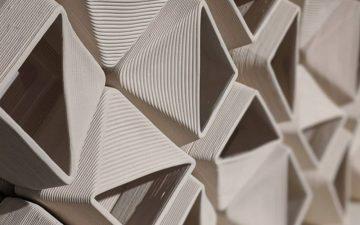 3D-печатные керамические блоки используются для системы естественной вентиляции